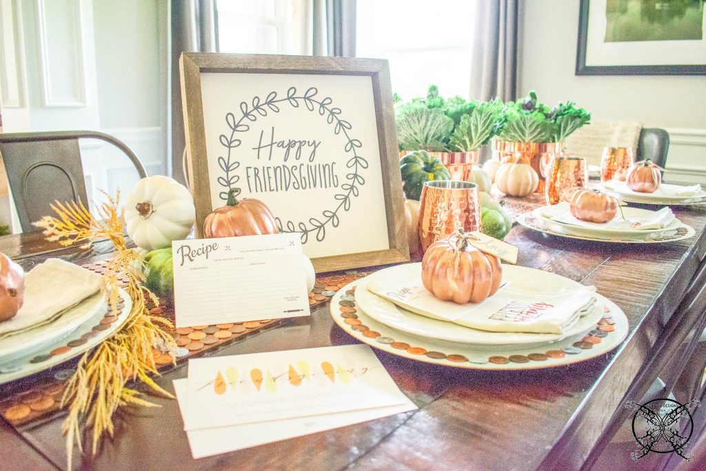 Dinner for Friendsgiving JENRON DESIGNS