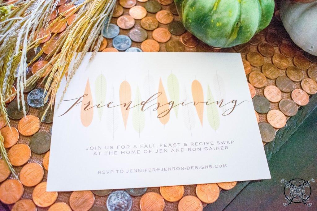 Friendsgiving JENRON DESIGNS