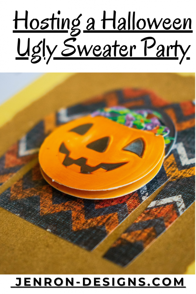 Halloween Ugly Sweater Party JENRON DESIGNS
