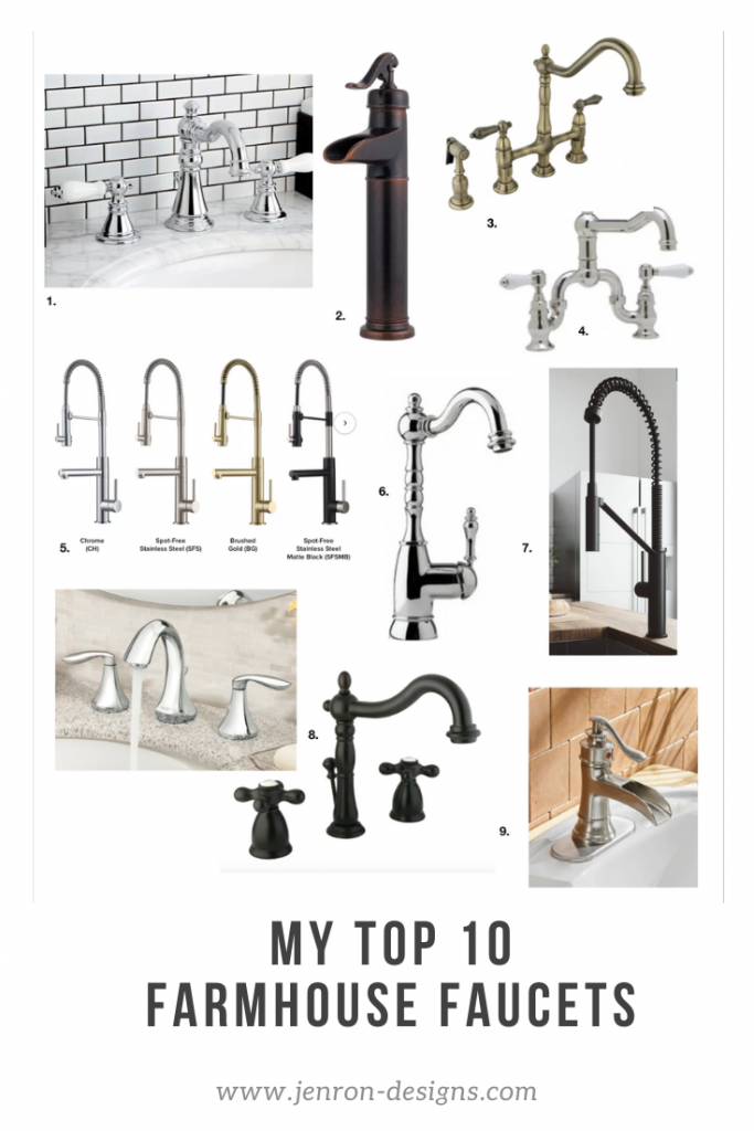 FARMHOUSE FAUCETS JENRON DESIGNS