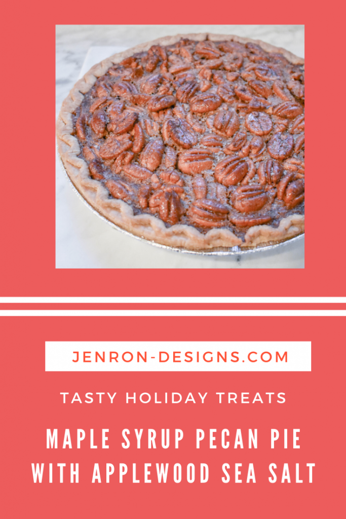 Maple Syrup Pecan Pie JENRON DESIGNS