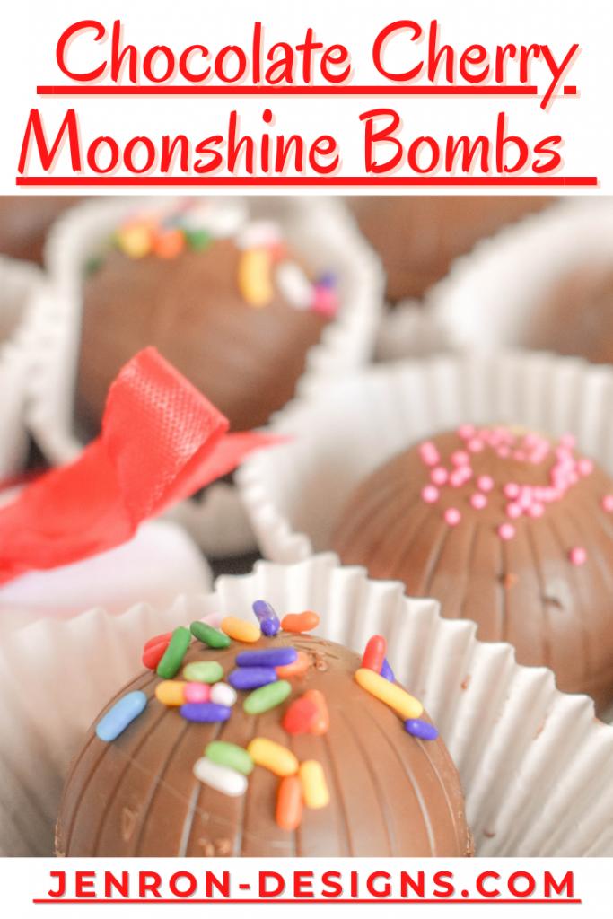 Chocolate Cherry Moonshine Bombs JENRON DESIGNS