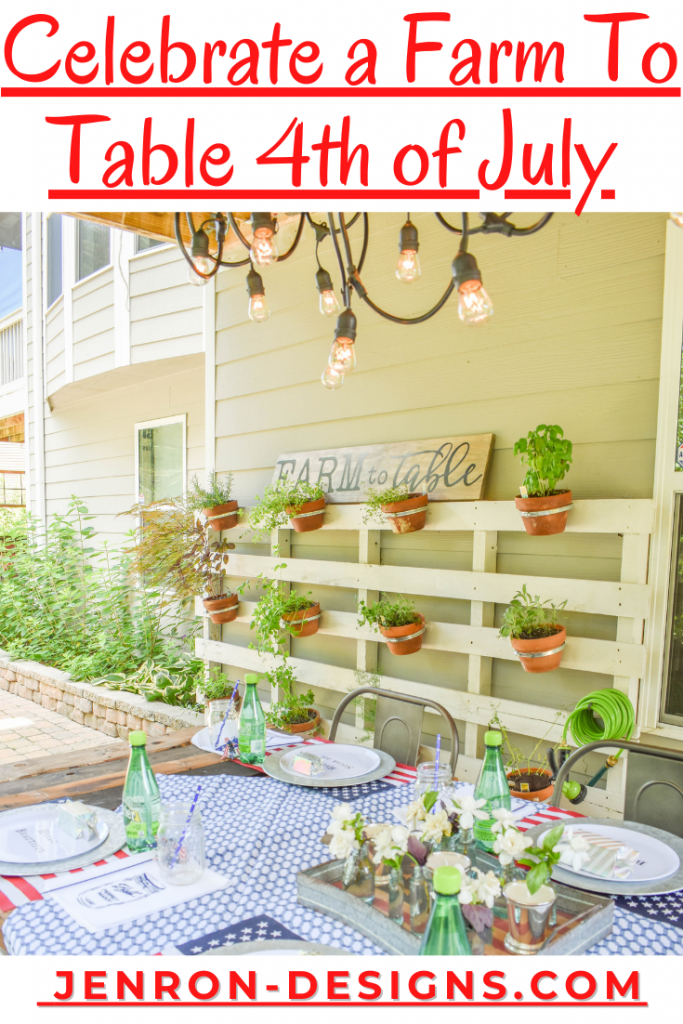 Farm To Table 4th of July JENRON DESIGNS