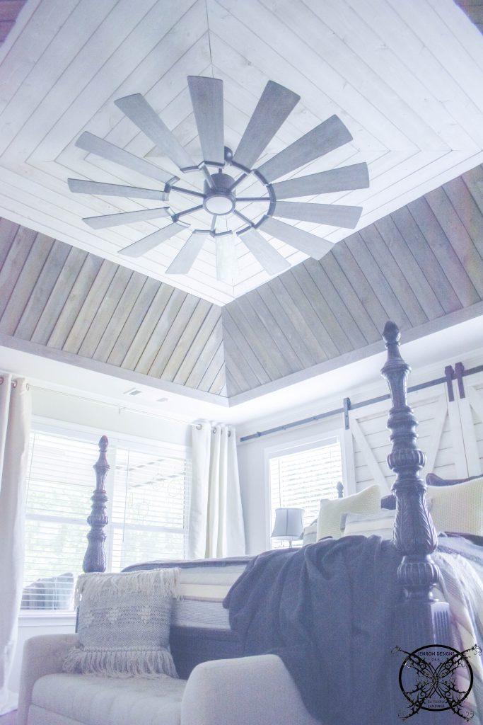 DIY A Shiplap Ceiling Project JENRON DESIGNS