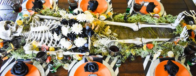 Halloween It's Your Funeral Table JENRON DESIGNS