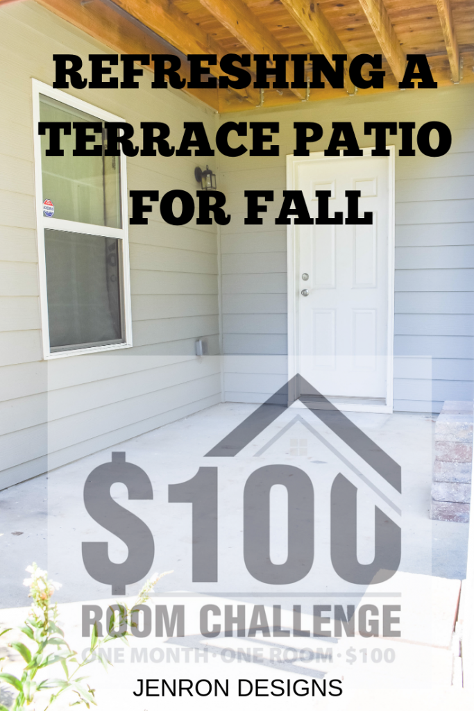 Refreshing a Terrace Patio for Fall