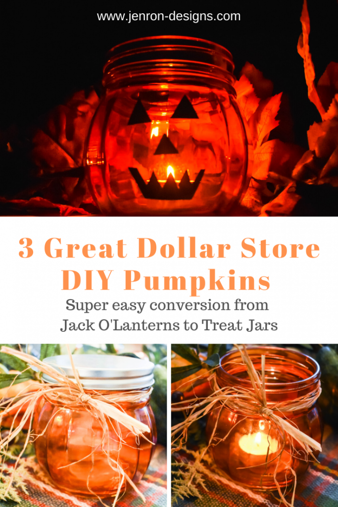 DIY Dollar Store Pumpkins JENRON DESIGNS