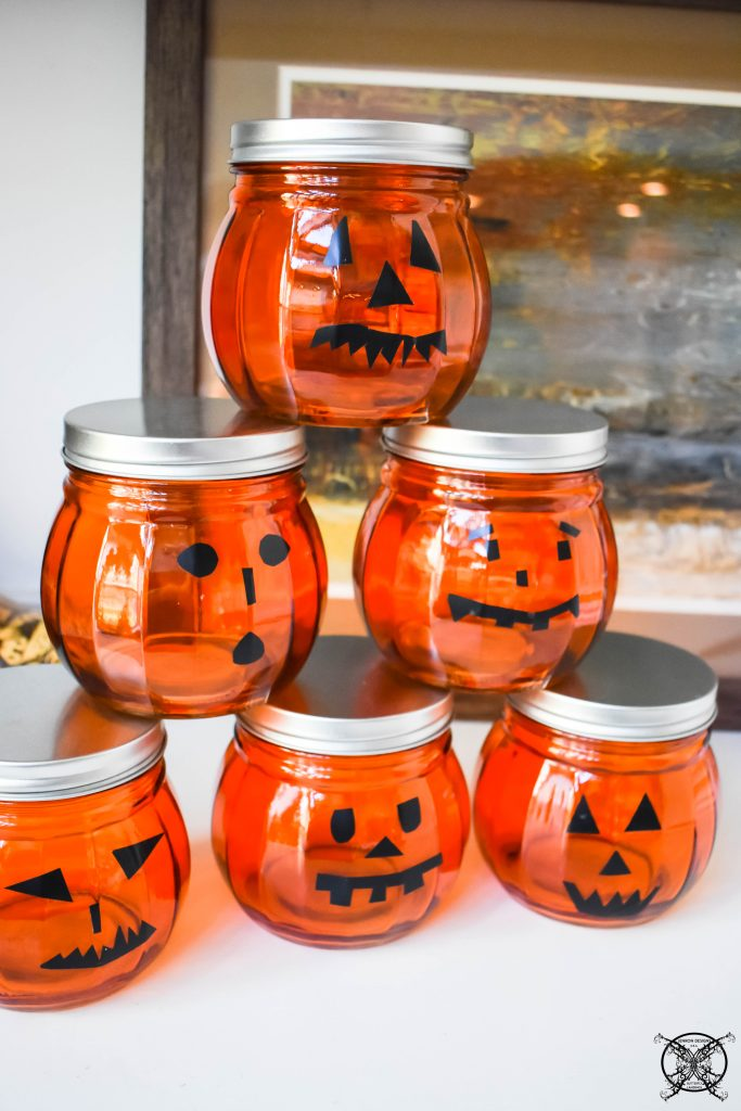 DIY Dollar Store Pumpkin Votives JENRON DESIGNS