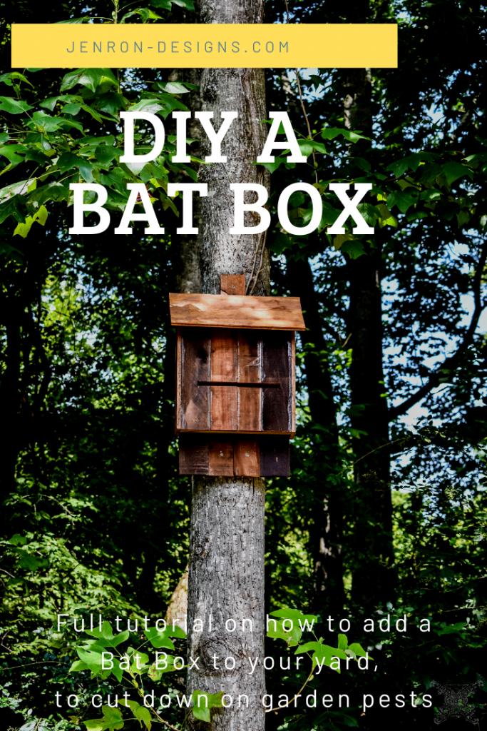 DIY BAT BOX JENRON-DESIGNS.com
