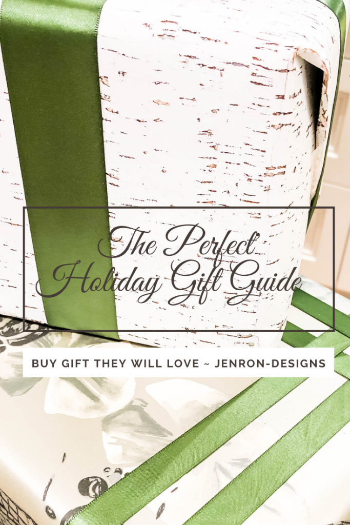 Holiday Gift Guide JENRON DESIGNS