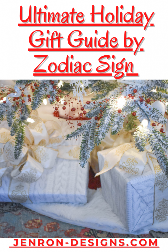 Ultimate Holiday Gift By Zodiac Sign JENRON DESIGNS