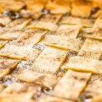Lattice Top PIe Crust with Cinnamon JENRON DESIGNS
