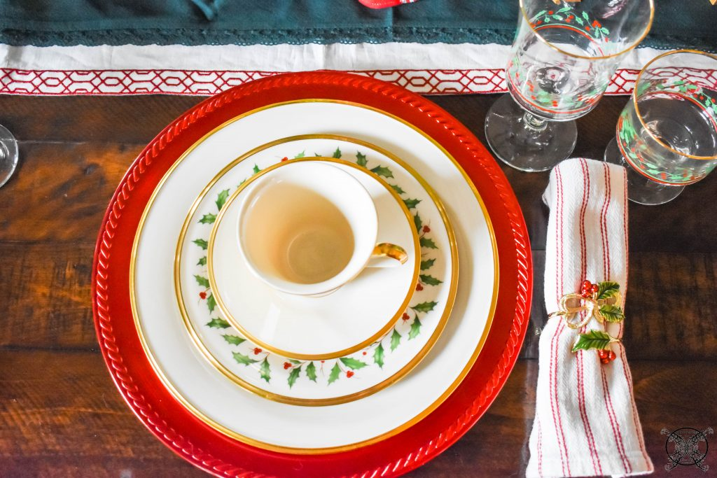 Lenox Holiday Leaf China JENRON DESIGNS