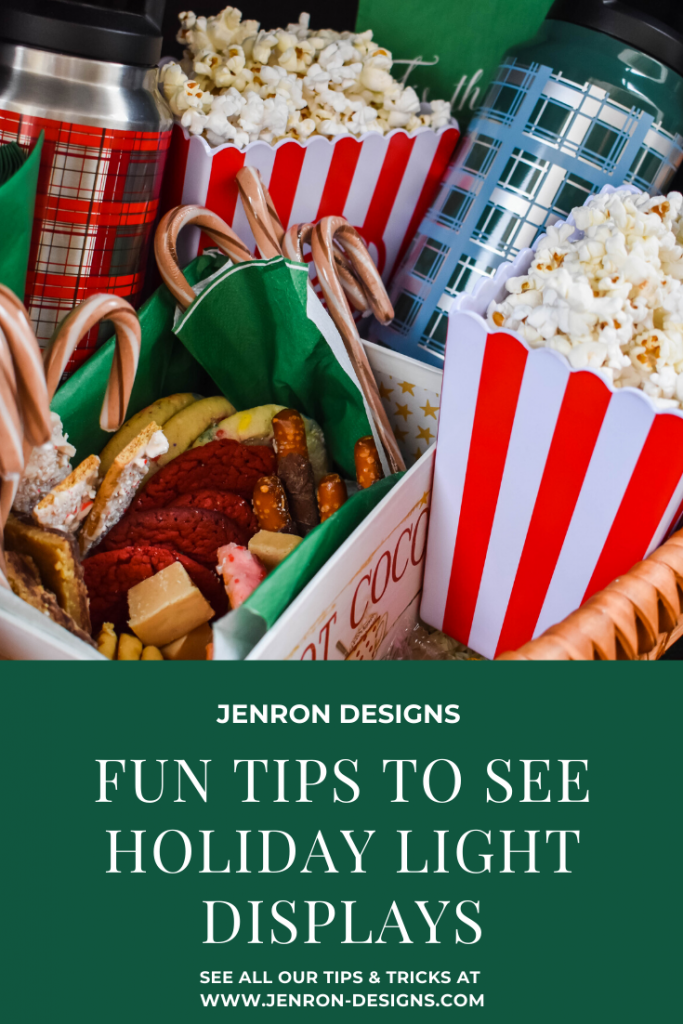 Holiday LIght Viewing Tips JENRON DESIGNS