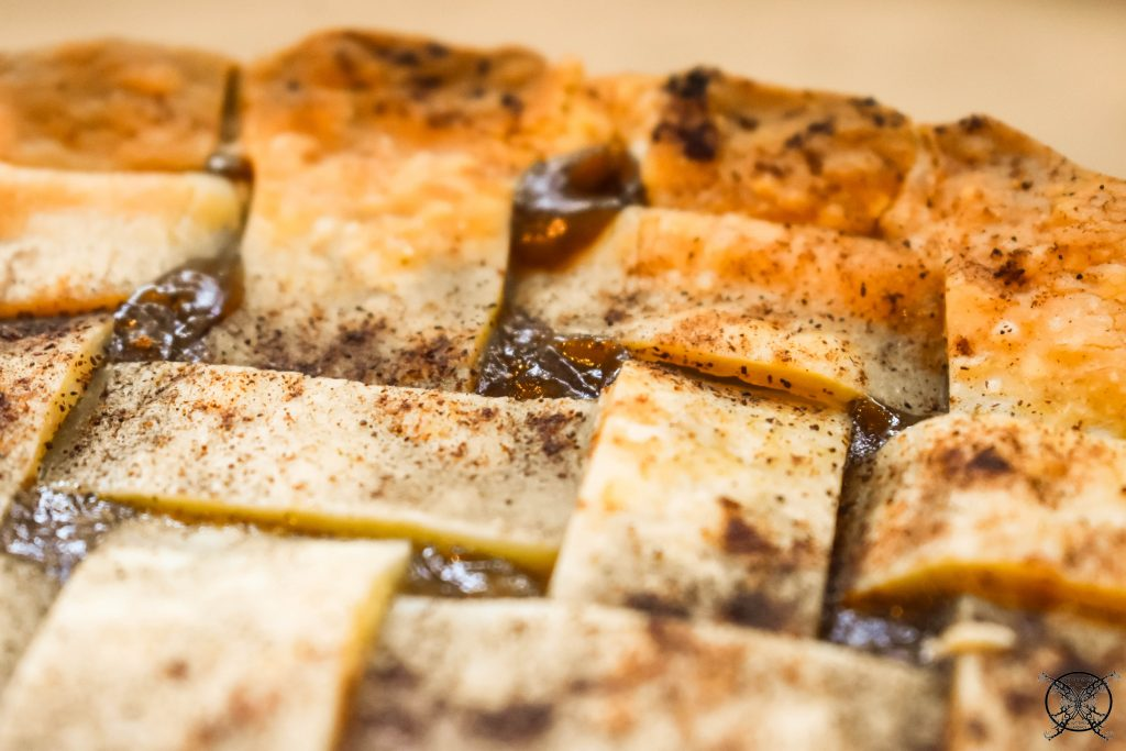 Yummy Caramel Pear Pie JENRON DESIGNS