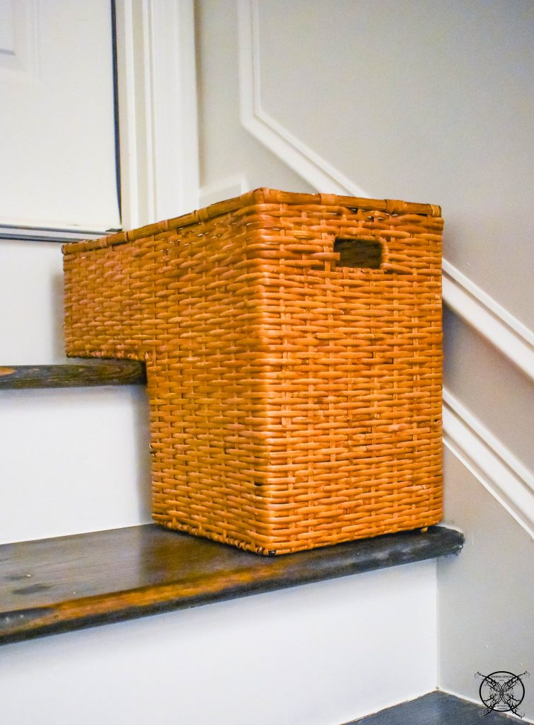 $100 Room Challenge Reveal basket JENRON DESIGNS