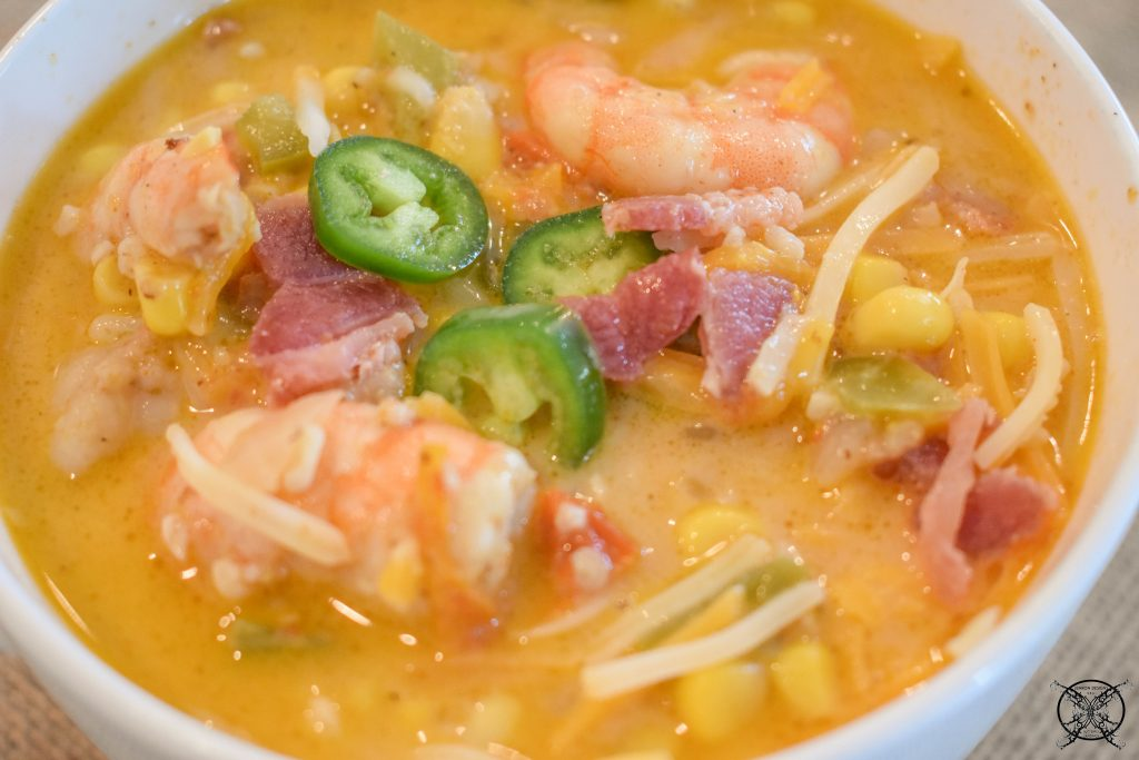 Shrimp & Corn Chowder JENRON DESIGNS