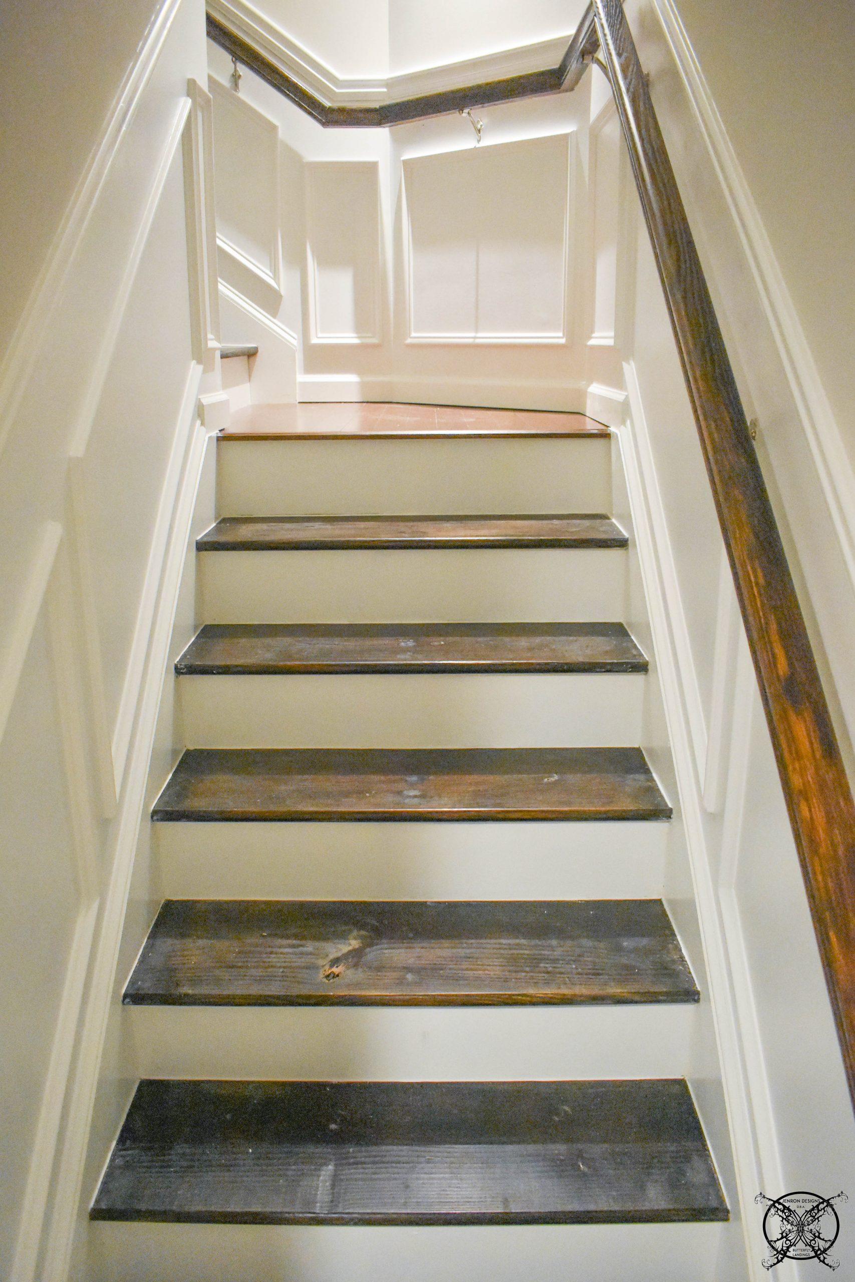 100 Room Challenge Staircase Landing Jenron Designs
