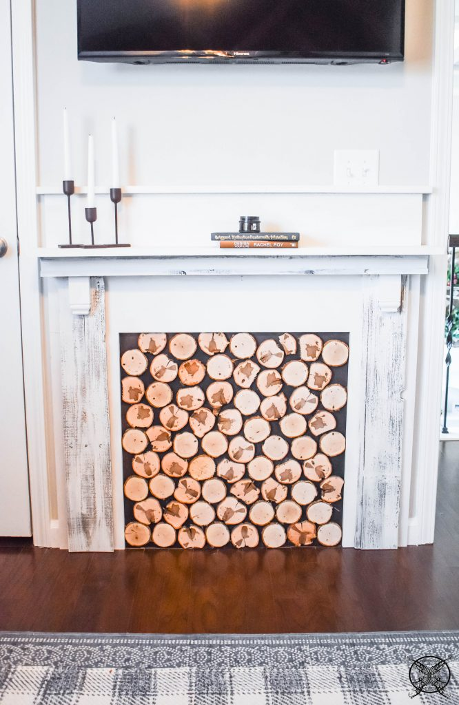 DIY Farmhouse Mantle JENRON DESIGNS