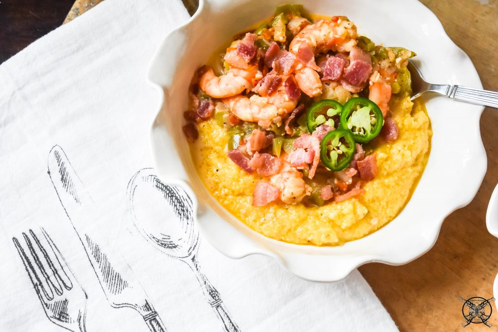 SHRIMP & GRITS JENRON DESIGNS