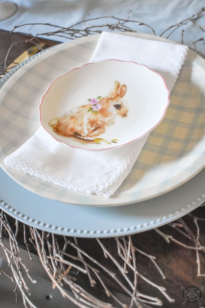 Easter Charger Napkin and Plates JENRON DESIGNS