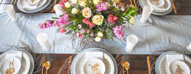Easter Tablescape JENRON DESIGNS