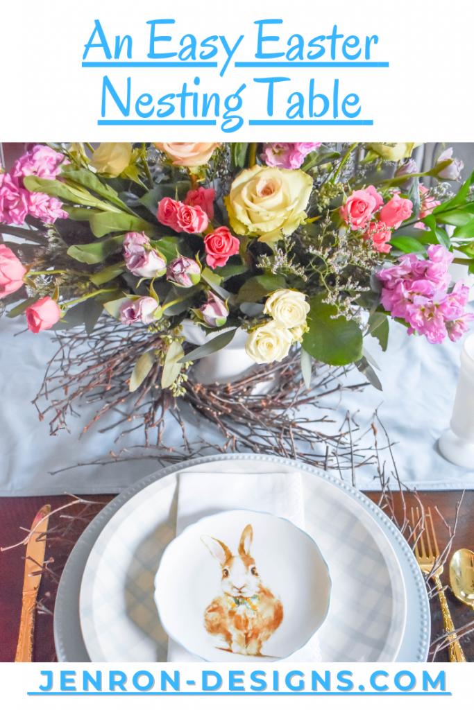 Easy Easter Nesting Table JENRON DESIGNS