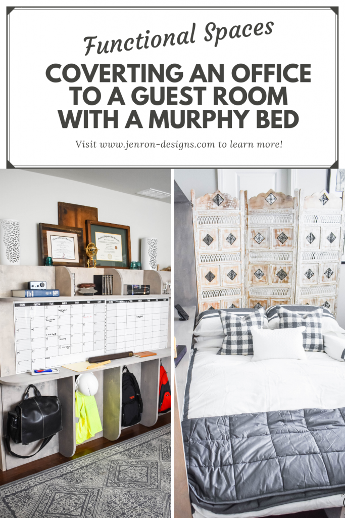 Functional Spaces Murphy Bed JENRON DESIGNS