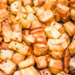 Irish Roasted Potatoes in Air Fryer JENRON DESIGNS