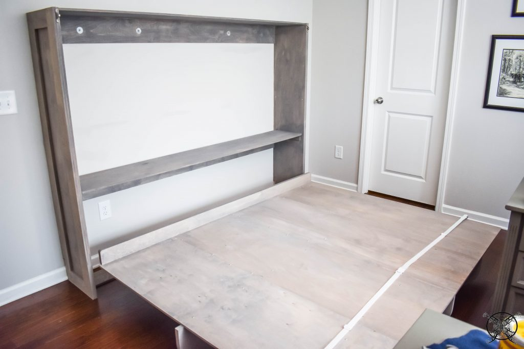Lori Murphy Bed refinished Jenron Designs