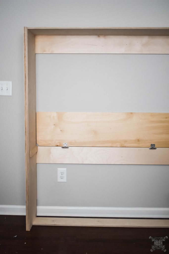 Lori Murphy Bed securing to wall Jenron Designs