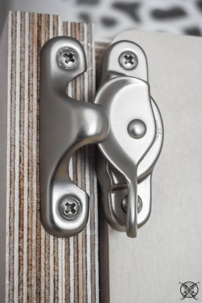 Murphy Bed latches Jenron Designs