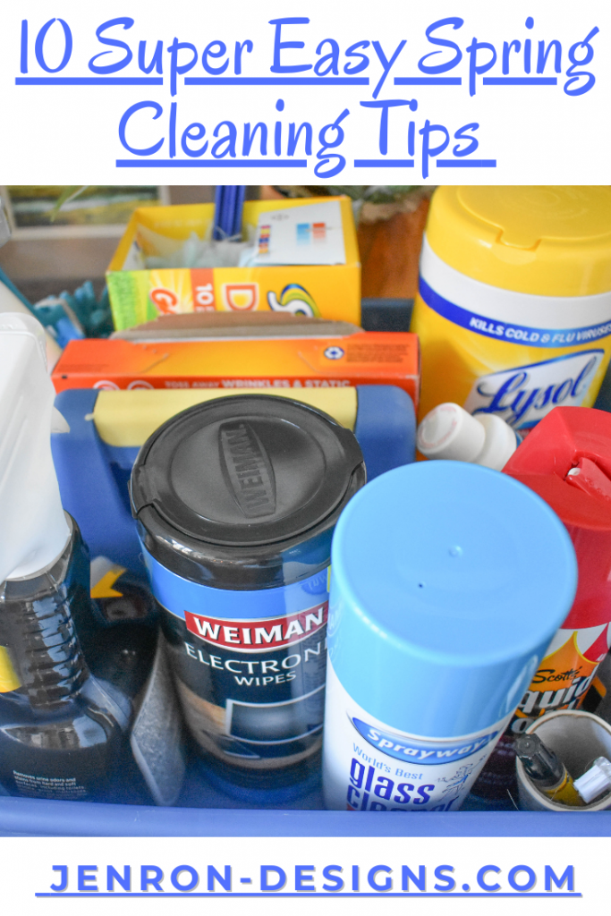 10 Super Easy Spring Cleaning Tips JENRON DESIGNS