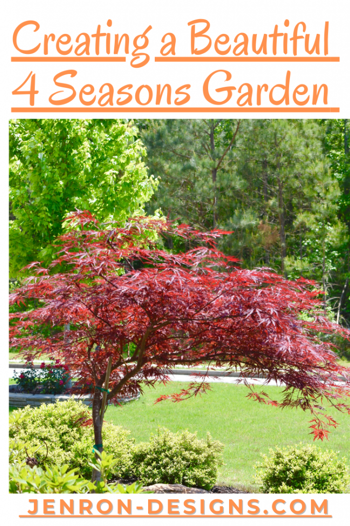 4 Seasons Garden Tips JENRON DESIGNS