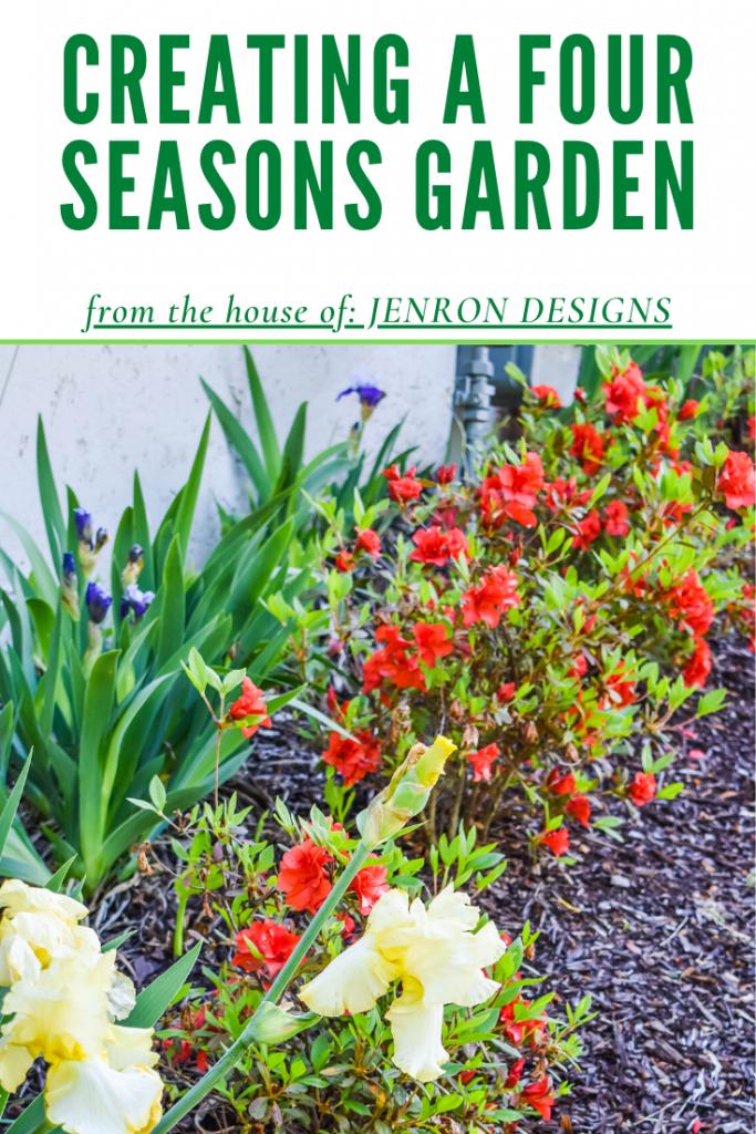 Four Season Garden Pin JENRON DESIGNS
