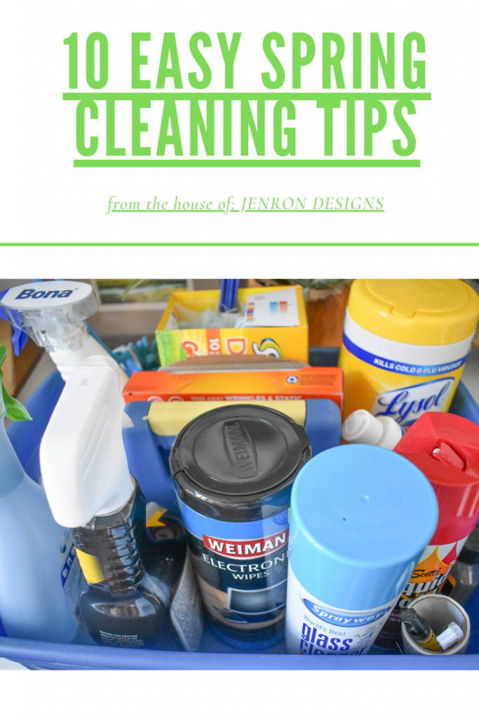 EASY SPRING CLEANING TIPS JENRON DESIGNS