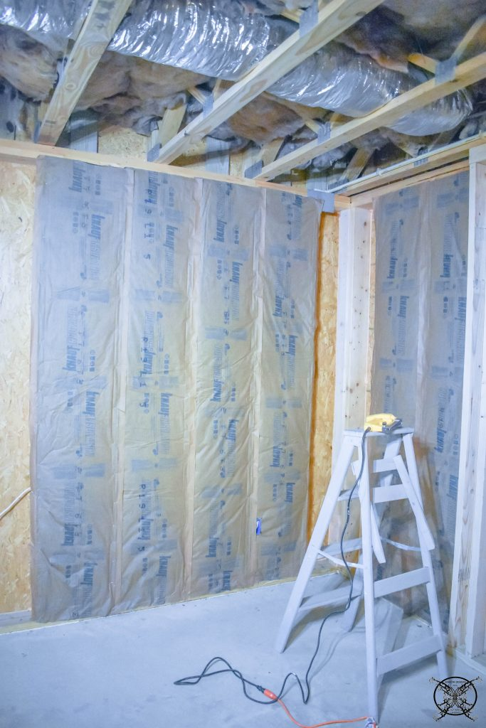 Adding Insulation to Basement Walls JENRON DESIGNS
