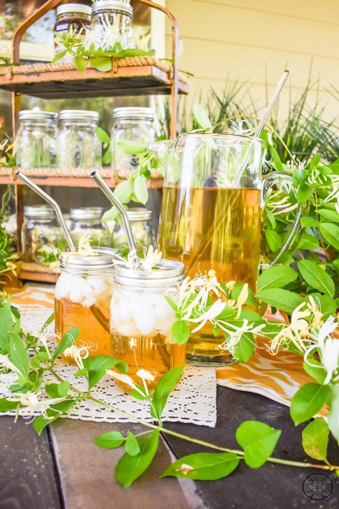 Brewing Honeysuckle Sweet Tea JENRON DESIGNS