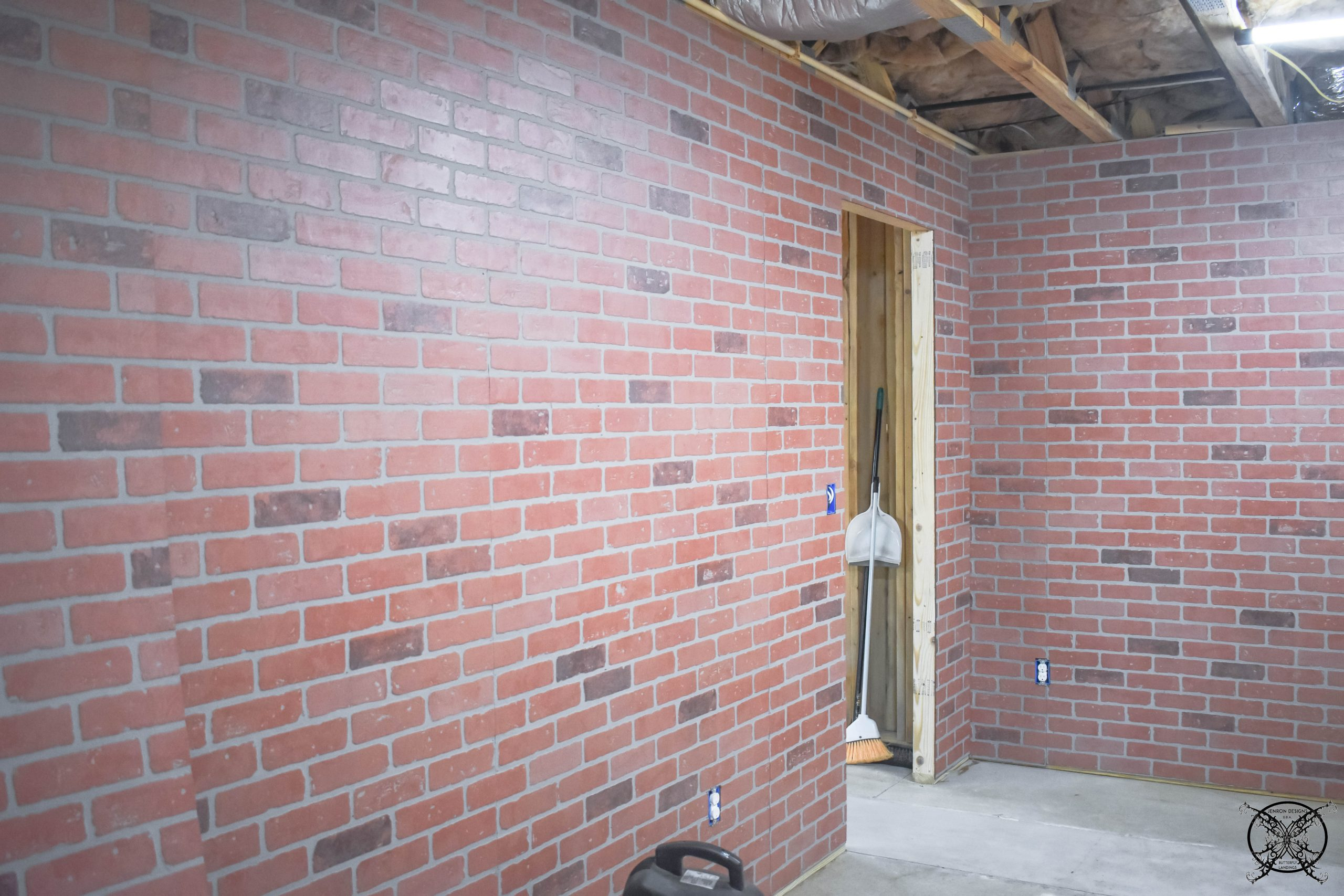 Faux Brick Walls JENRON DESIGNS