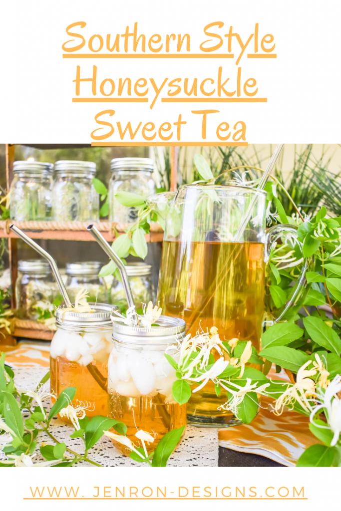 Honeysuckle Sweet Tea Pin JENRON DESIGNS