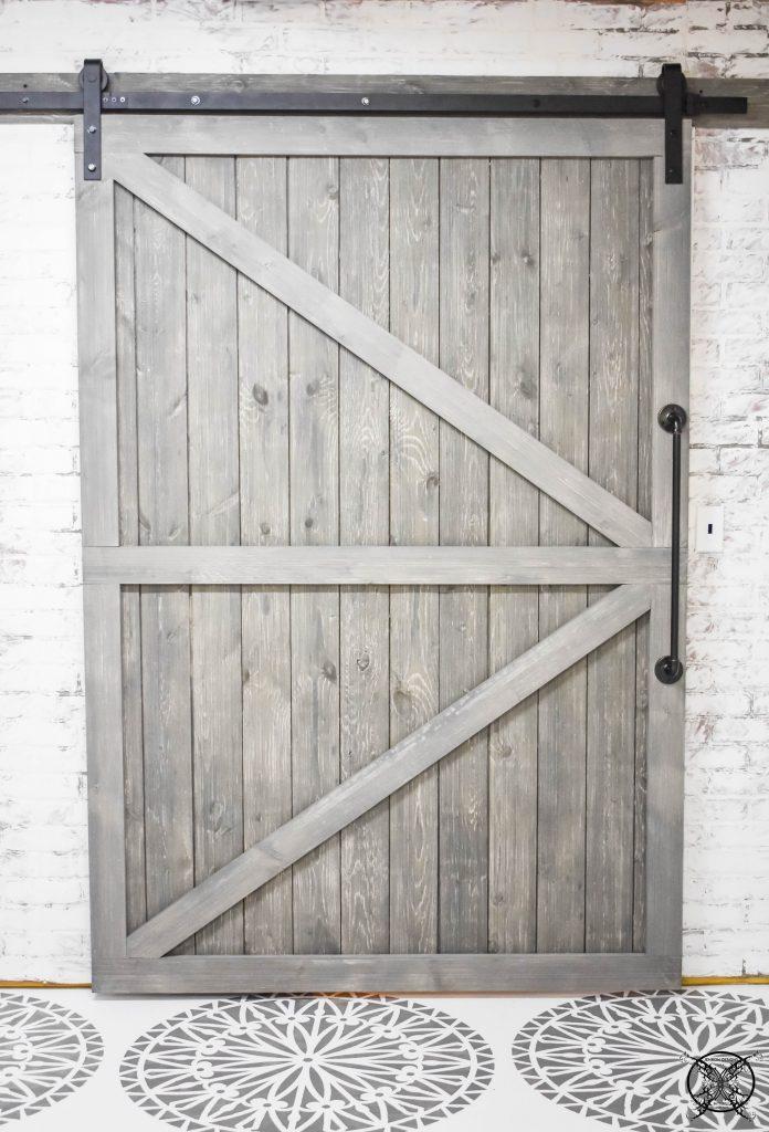 Building a DIY Barn Door JENRON DESIGNS