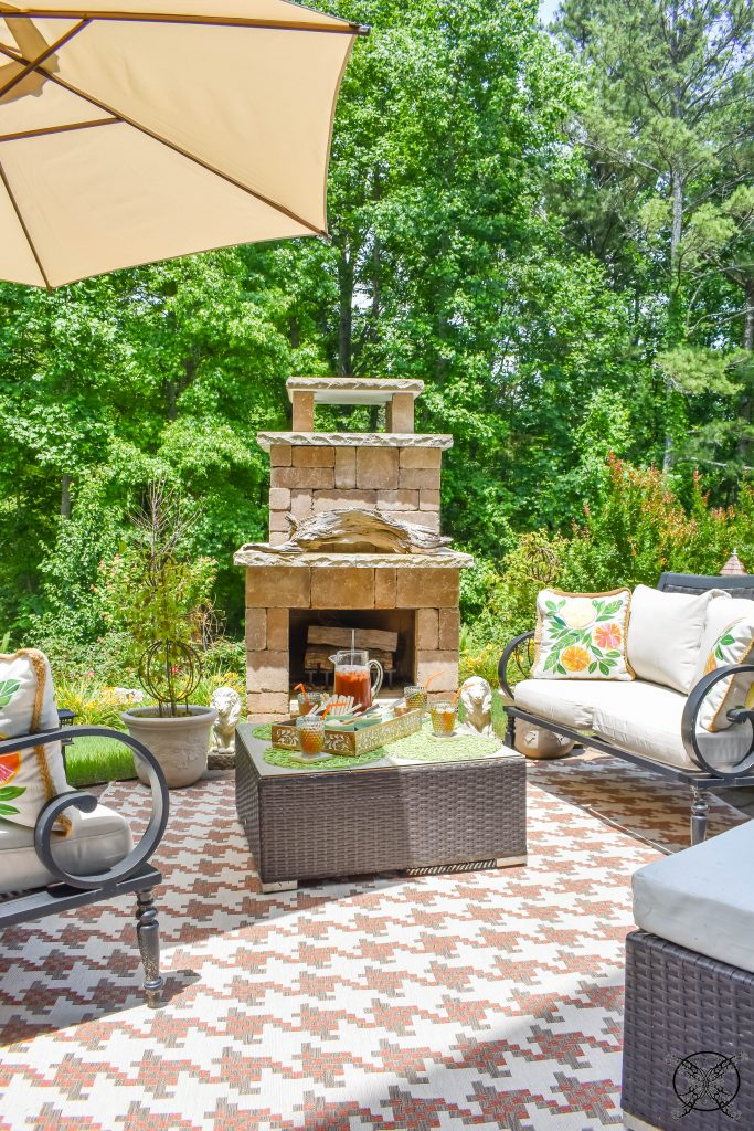 Create an Outdoor Room JENRON DESIGNS