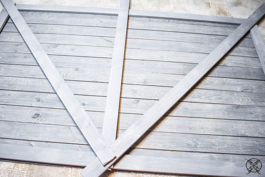 DIY Building a Barn Door JENRON DESIGNS