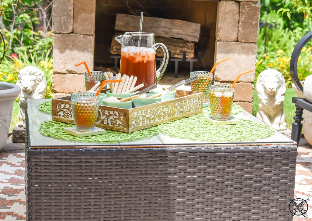 Easy Backyard Entertaining JENRON DESIGNS