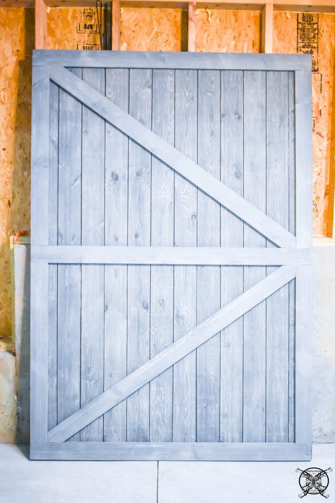 Finished Barn Door JENRON DESIGNS