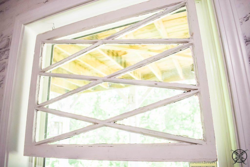 Flower Shop Anique Window in Basement JENRON DESIGNS