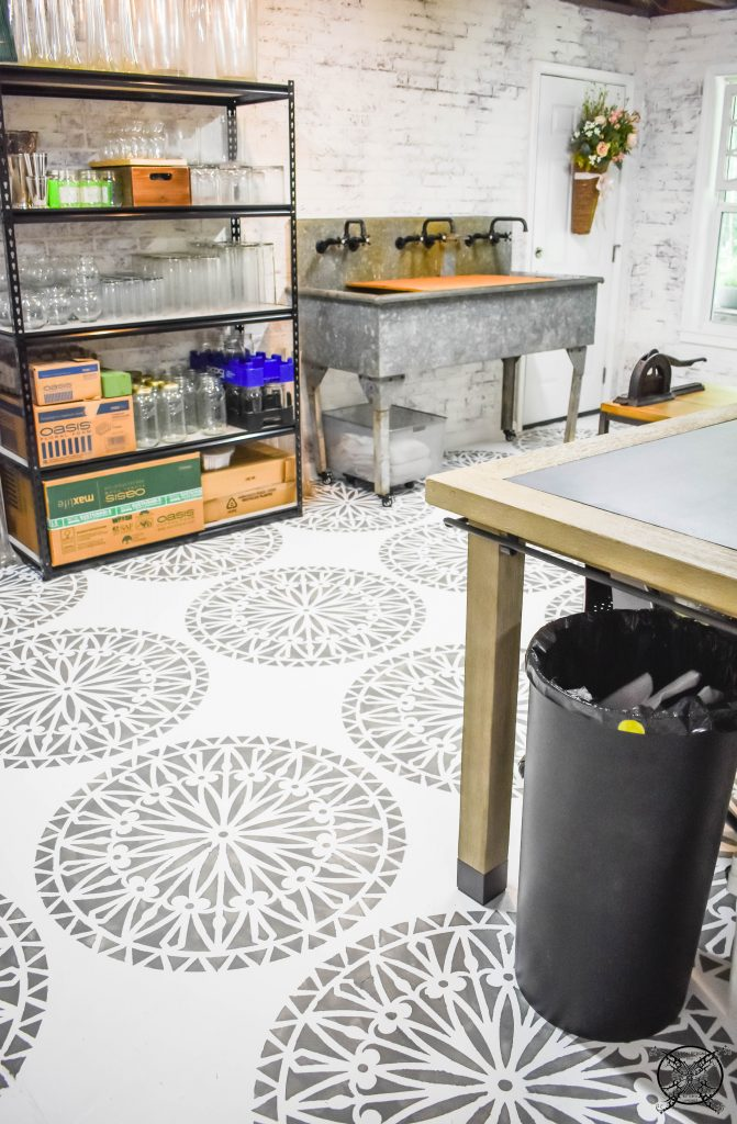 Flower Shop Basement JENRON DESIGNS