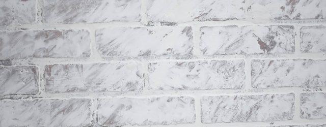 Industrial Faux Brick with german schmear JENRON DESIGNS