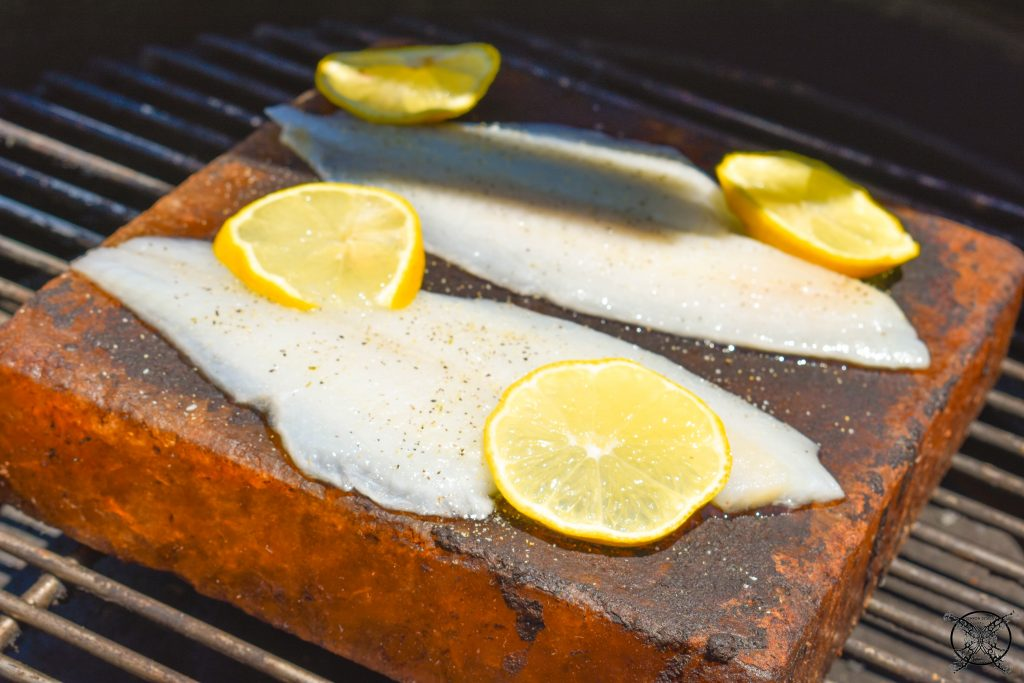Lemony Fish Grilled on the Egg JENRON DESIGNS