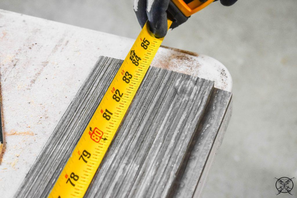 Measurements to build a Barn Door JENRON DESIGNS